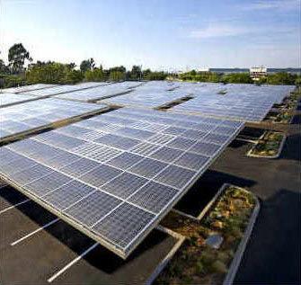 Google's Solar Carport
