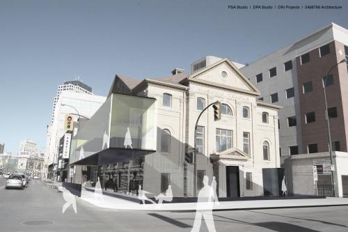 Corner rendering #1